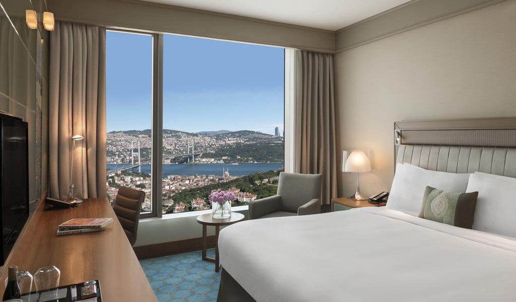 Executive Room, Club lounge access, Guest room, Sea view, 1 King 1-min