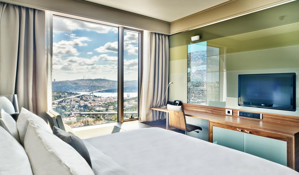 Executive Room, Club lounge access, Guest room, Sea view, 1 King 2-min
