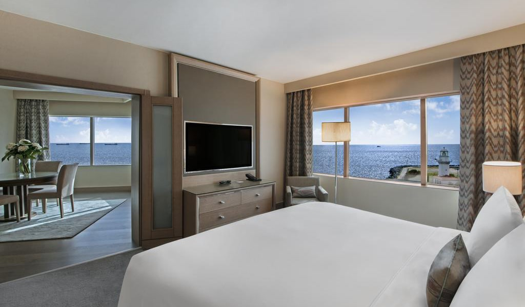 Ocean Suite with Sea View and Lounge Access 1-min
