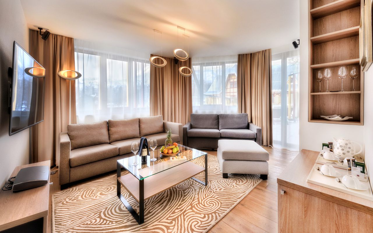 Maria Terezia apartment living room