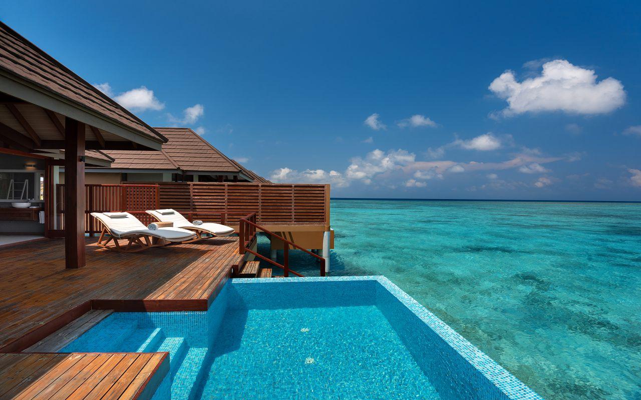 Water Villa with Pool - Deck and Pool View - VARU by Atmosphere