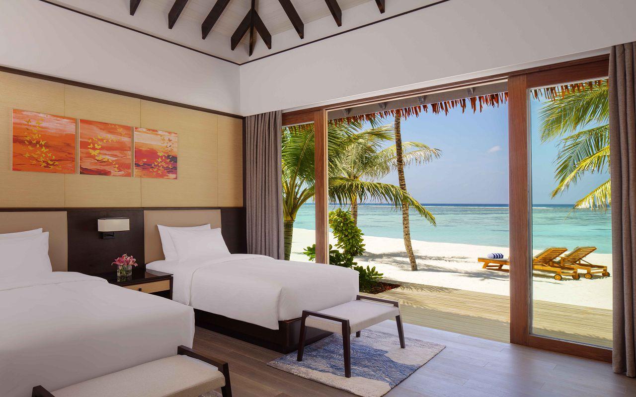 2 Bedroom Beach Suite Villa - Twin Room