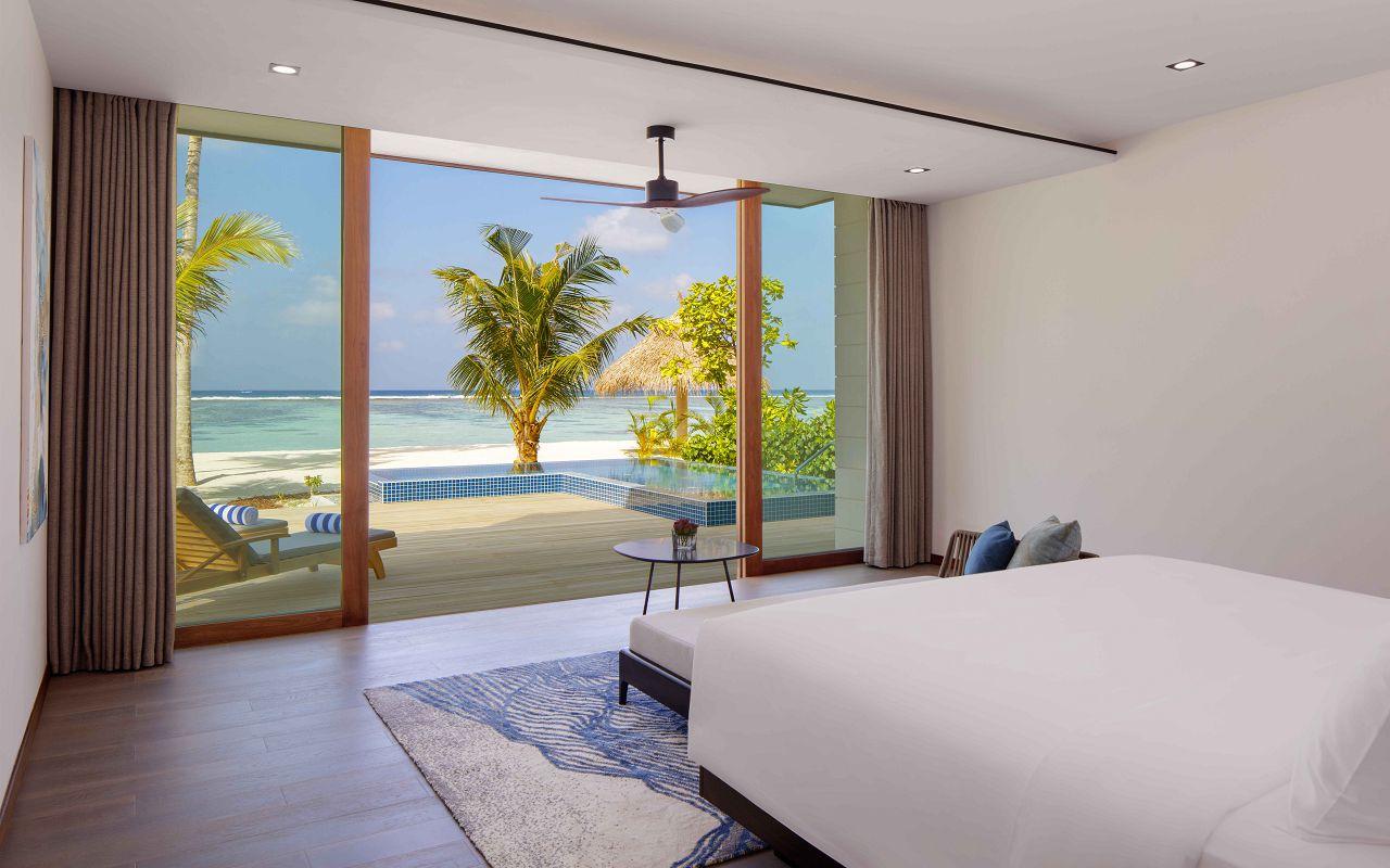 2 Bedroom Family Beach Villa - Master Bedroom