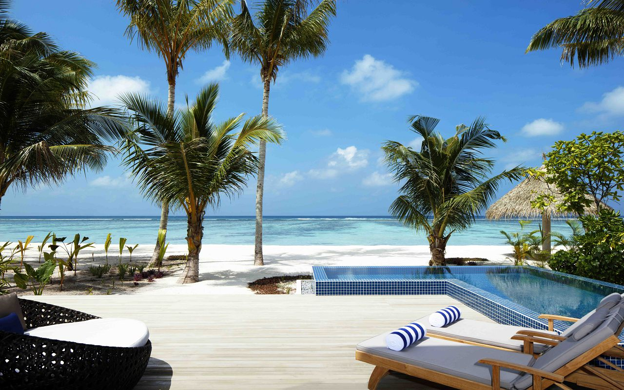 2 Bedroom Family Beach Villa - Outdoor Deck _ Pool