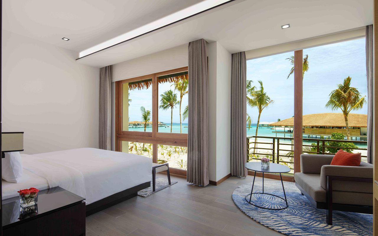 3 Bedroom Family Beach Villa - Master Bedroom, 2nd Level