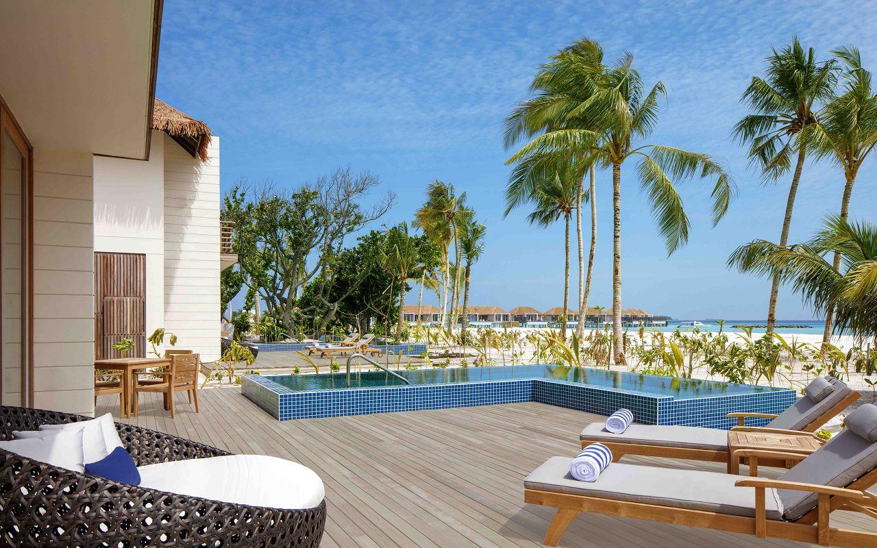 3 Bedroom Family Beach Villa - Outdoor Deck _ Pool