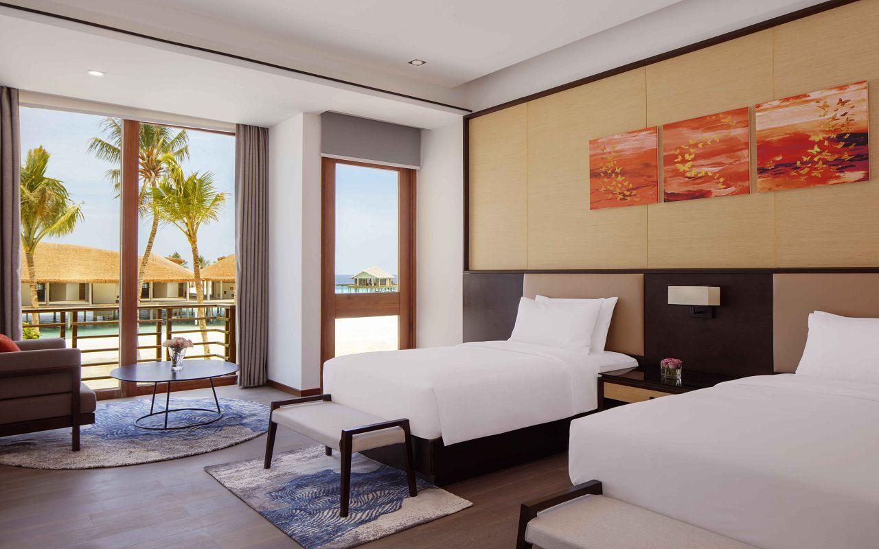 3 Bedroom Family Beach Villa - Twin Room, 2nd Level