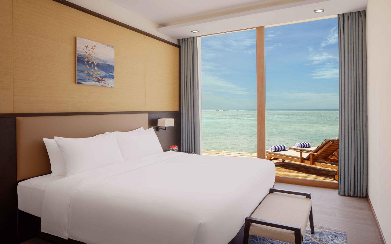 3 Bedroom Overwater Villa - 2nd Bedroom