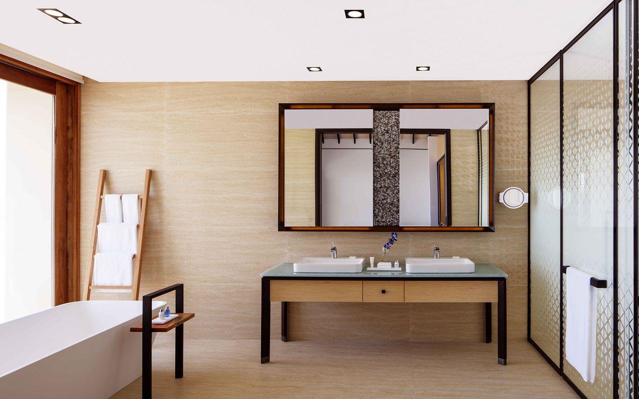 Overwater Villa - Bathroom