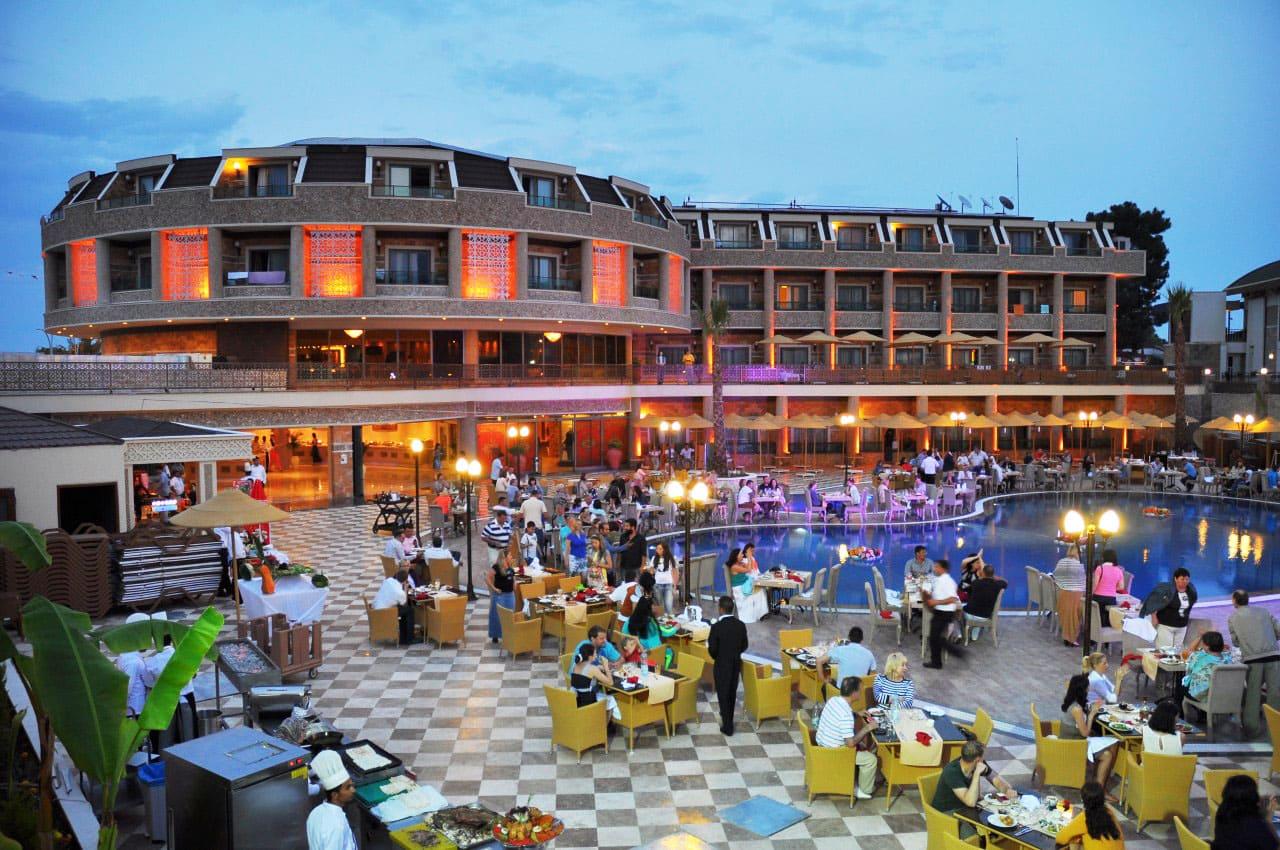 отели турции  Elamir Resort Hotel 4*