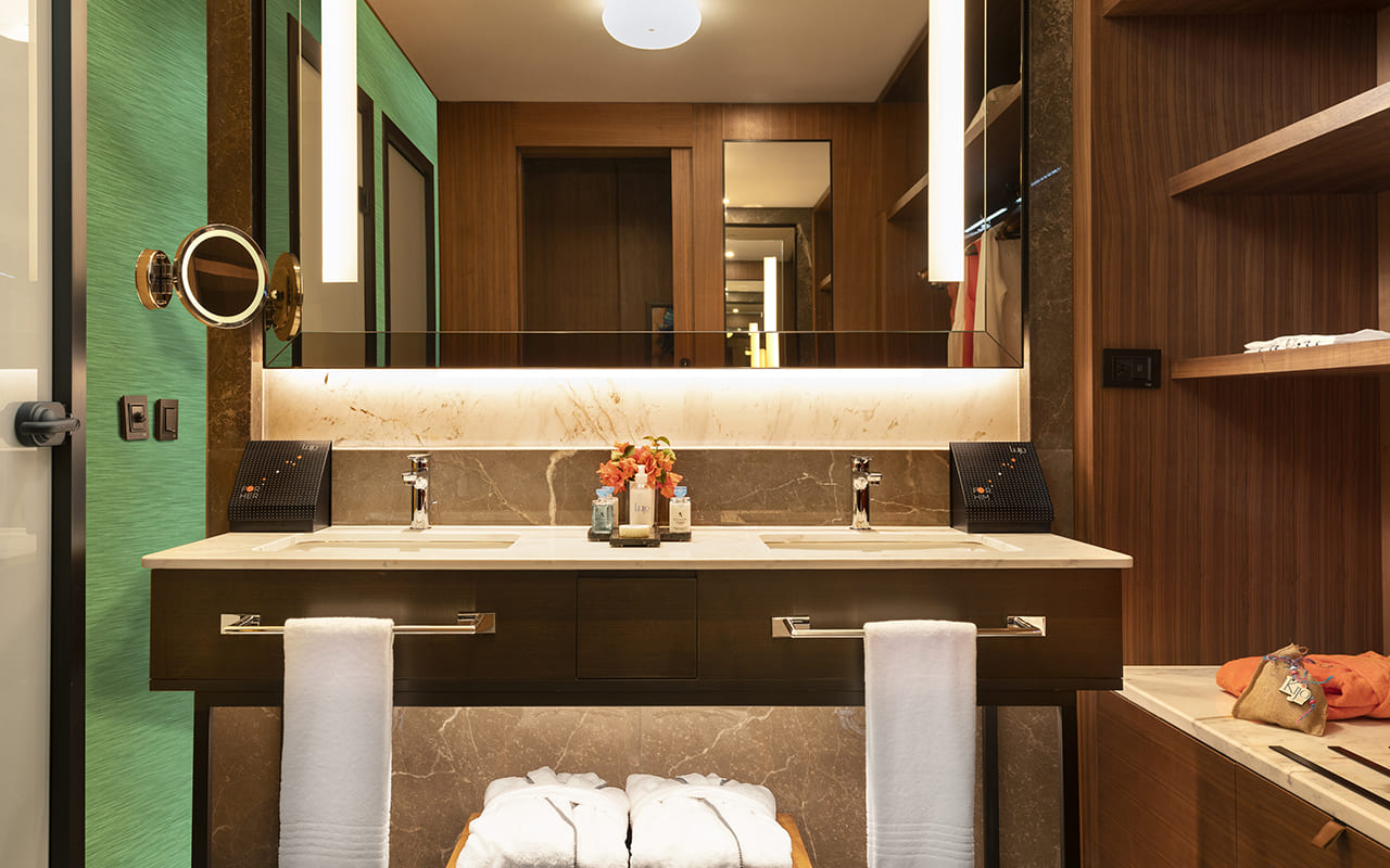 Lujo-Room Bathroom - 15 - Yeşil
