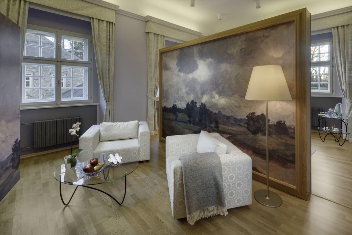 luxury double room grand landscape