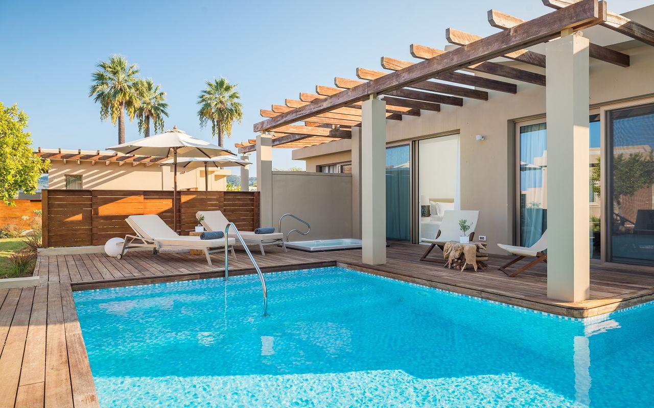 Paviliion Suite Sea View Outdoor Pool