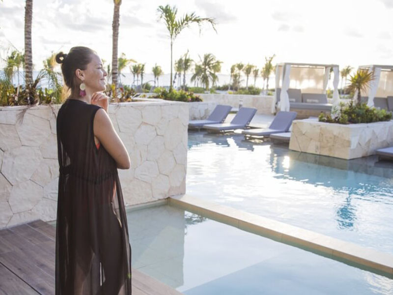vacaciones swim up suite majestic costa mujeres